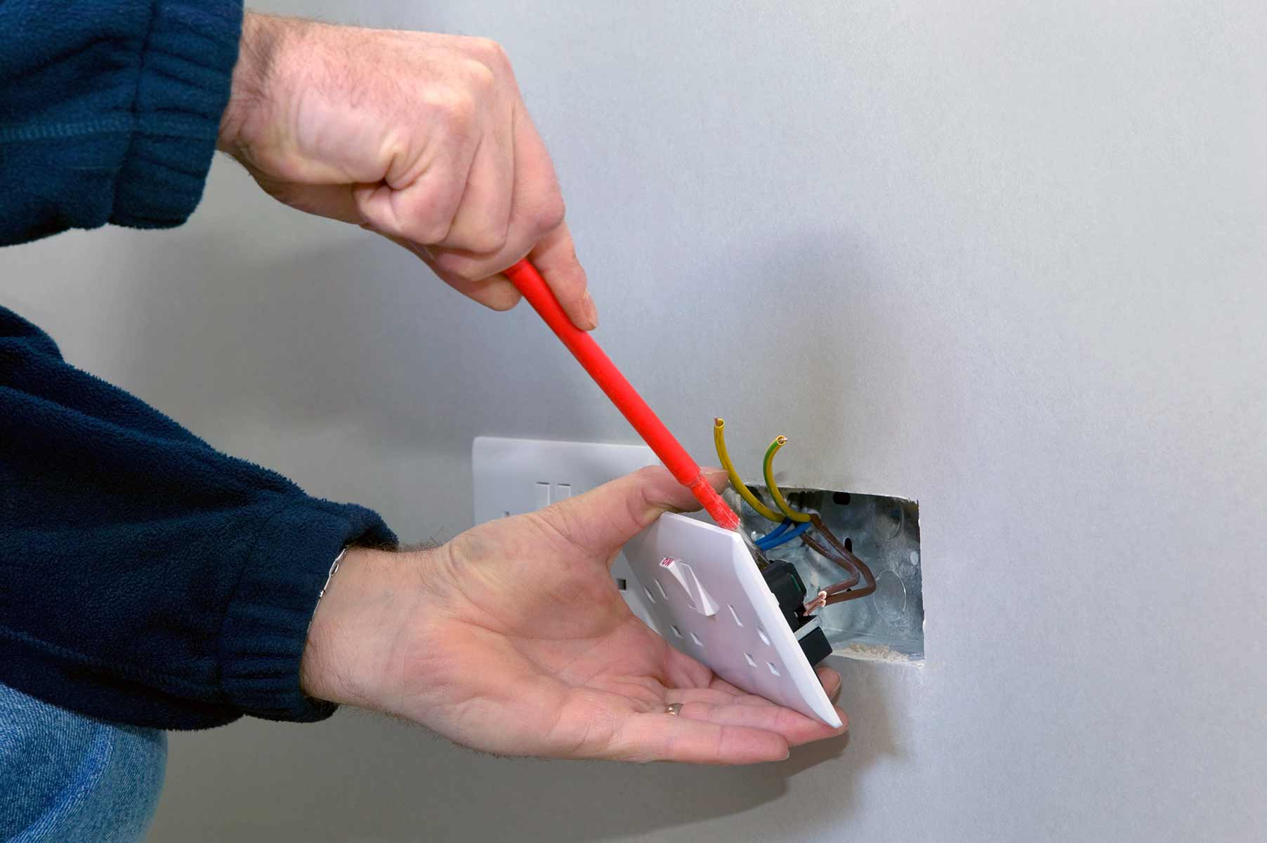 Our electricians can install plug sockets for domestic and commercial proeprties in Pinner and the local area.